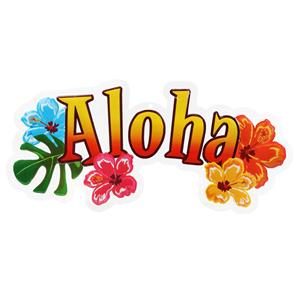 Decoração Aloha Tropical
