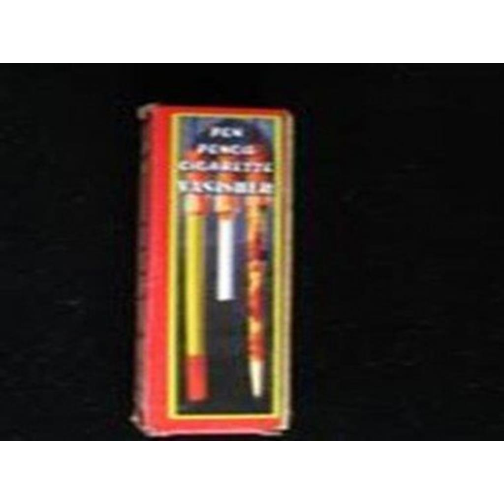 Desaparição cigarro/lápis/caneta ETC ;