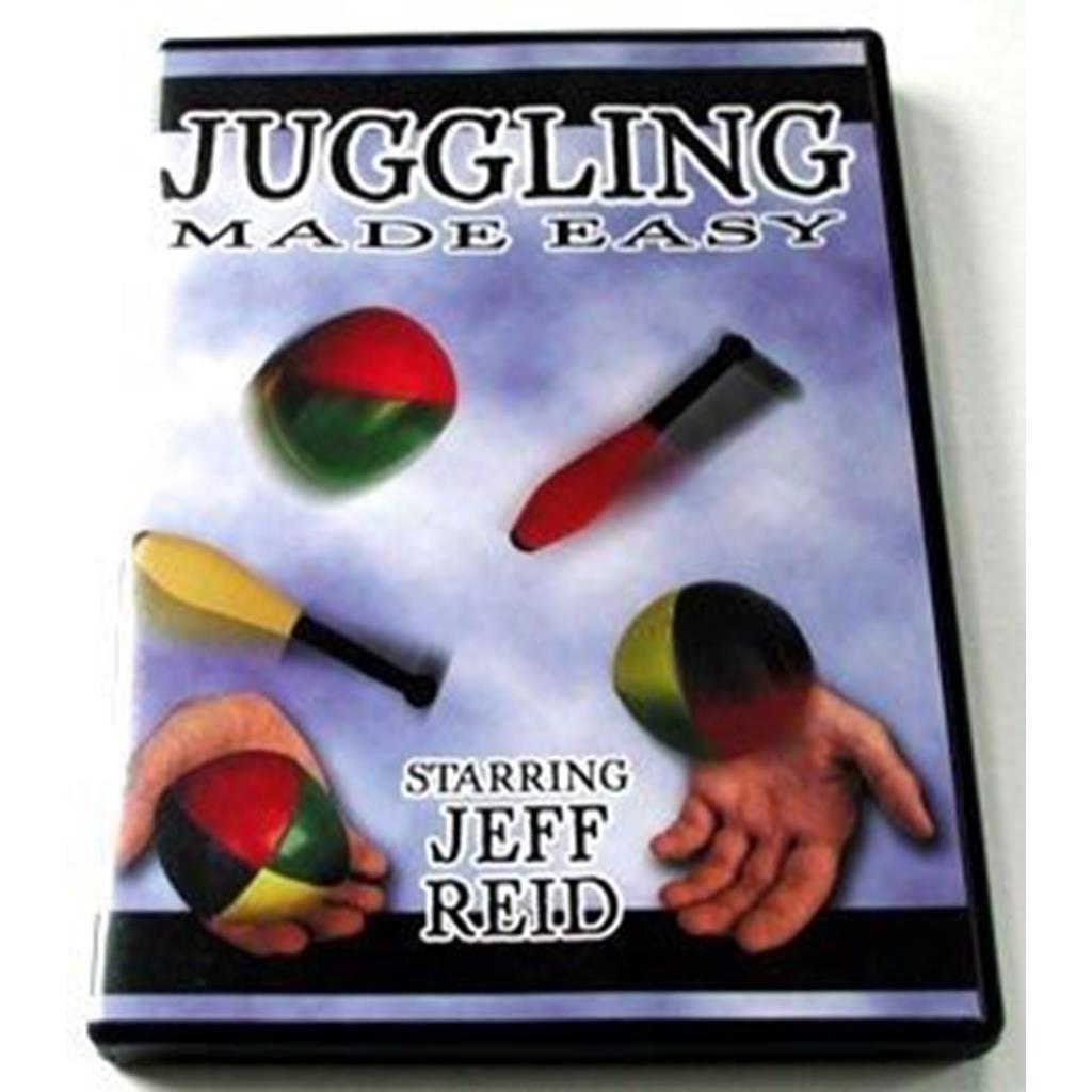 DVD com técnicas para aprender malabarismo.