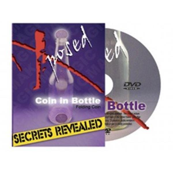 DVD com truques a moeda na garrafa, X posed Coin in bottle