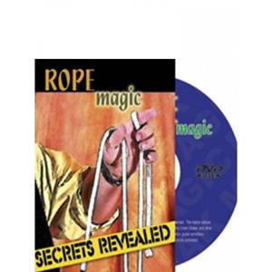DVD cordas,  Rope Magic DVD, Secrets