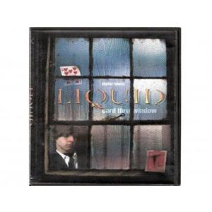 DVD liquid Carta através do vidro - Liqui Card Through Windo