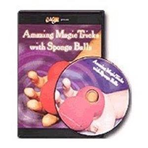 DVD Surpreendentes Truques com Bolas de Esponja, Sponge Ball