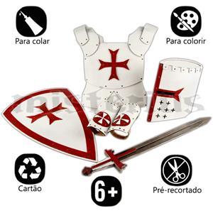 Fantasy Craft - Armadura Medieval Cartão