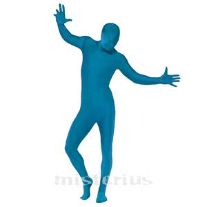 Fato Azul Elástico
