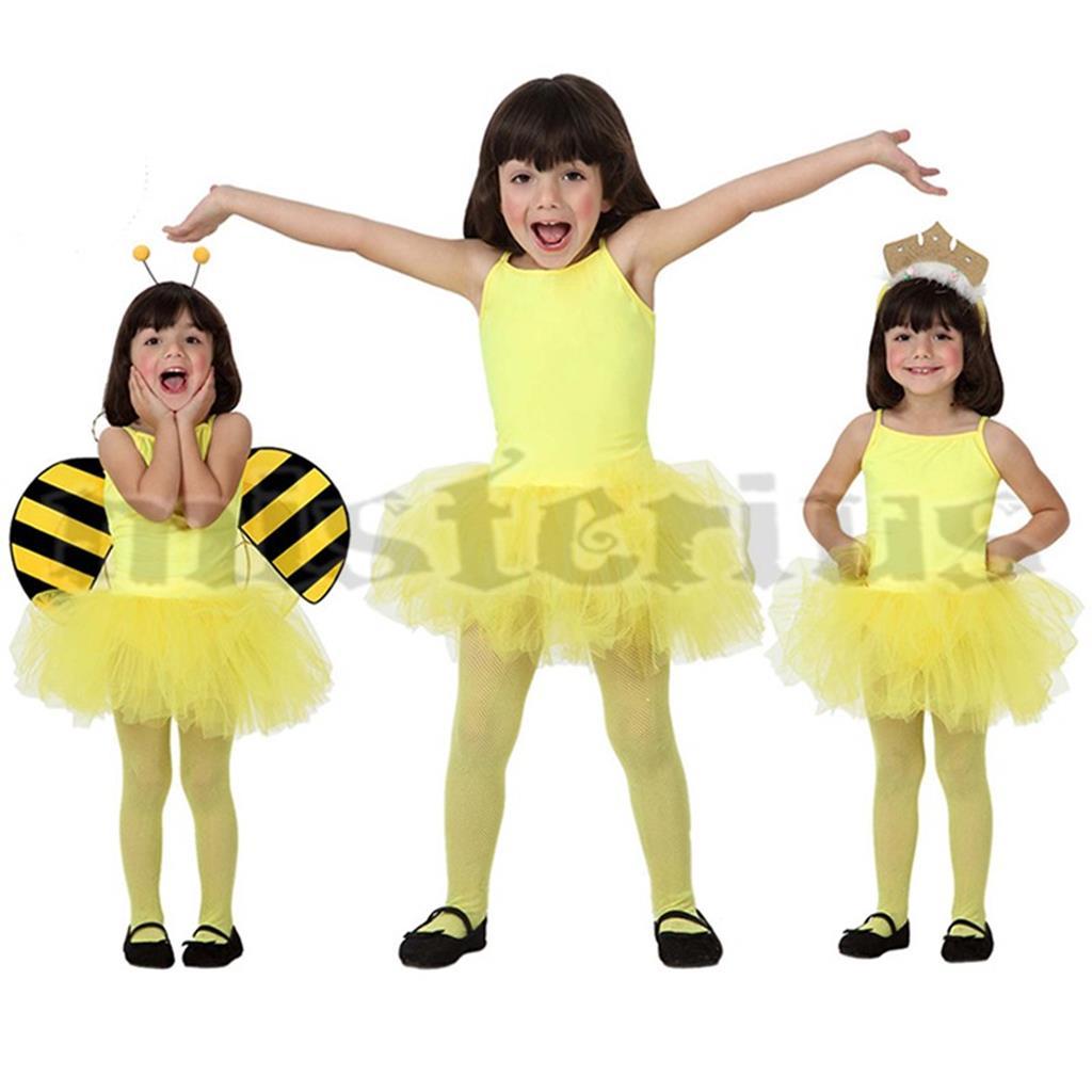 Fato Bailarina Amarelo, Criança