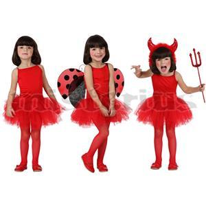 Fato Bailarina Vermelha, criança