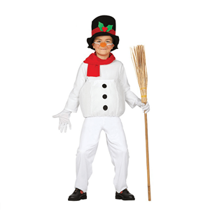 Fato Boneco de Neve - Criança