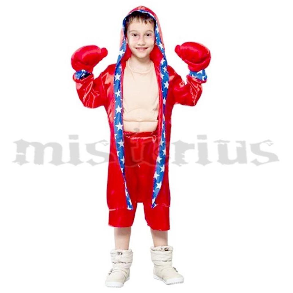 Fato Boxeador, criança