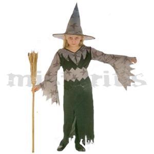 Fato Bruxa Morcego, criança