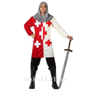 Fato Cavaleiro Cruzadas