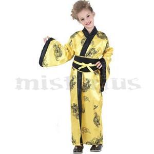 Fato Chinesa Amarelo, criança