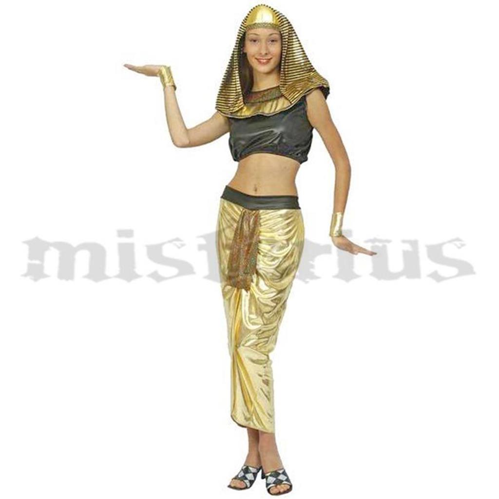 Fato Cleópatra Dourado
