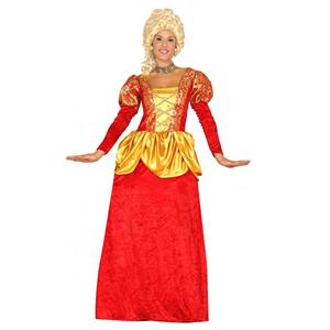 Fato Condessa Vermelha, Adulto