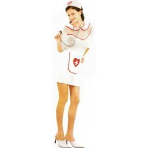 Fato de Enfermeira, adulto