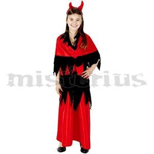 Fato Diabinha Vermelha, criança