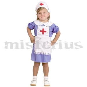 Fato Enfermeira Azul, criança