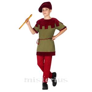 Fato Flautista Medieval, Menino