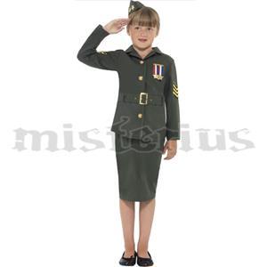 Fato Gala Militar Menina
