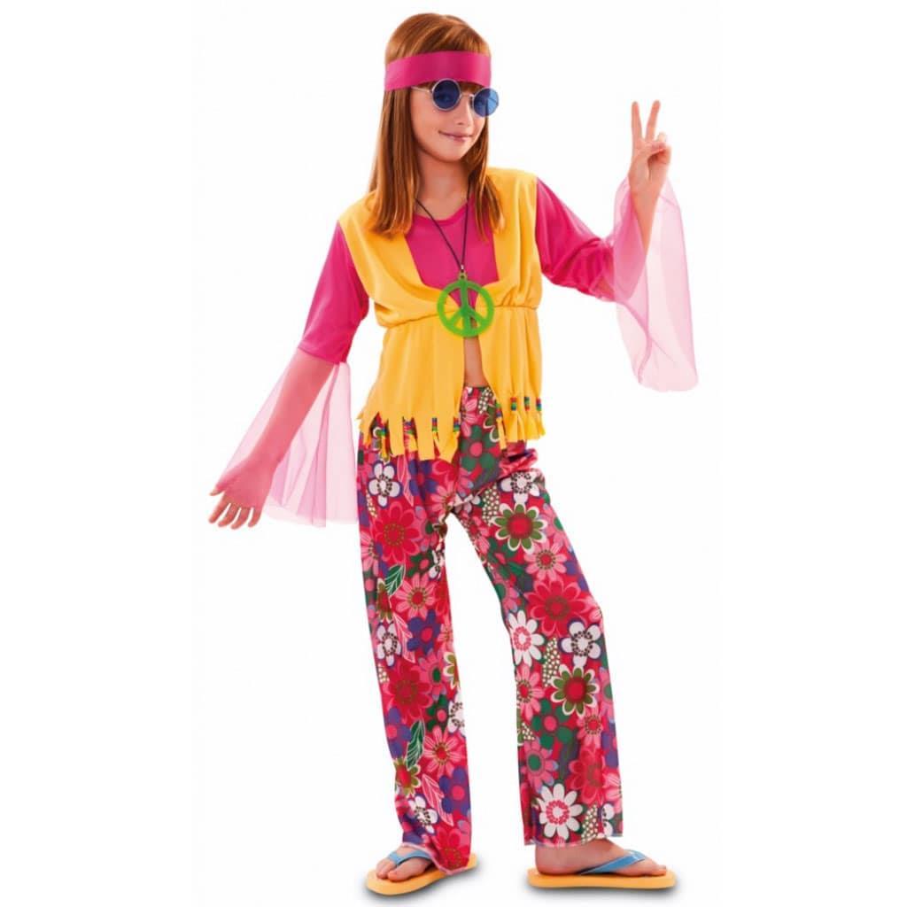 Fato Hippie Flores, menina