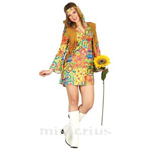 Fato Hippie Florido