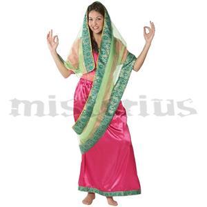 Fato Indiana Hindu Rosa