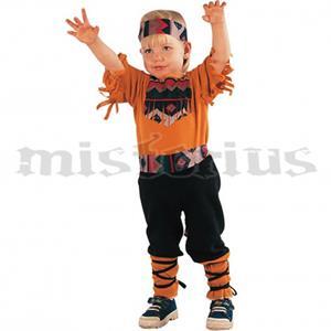 Fato Indio Castanho, criança