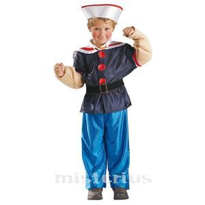 Fato Marinheiro Popeye, Criança