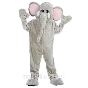 Fato Mascote Elefante, adulto