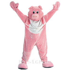 Fato Mascote Porco, adulto