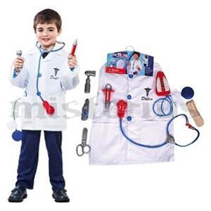 Fato Médico com 8 Acessórios, criança