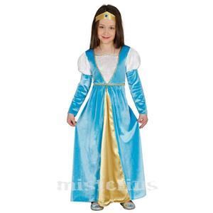 Fato Menina Medieval, criança