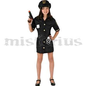 Fato Menina Policia