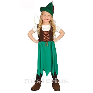 Fato Menina Robin dos Bosques, Criança