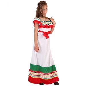 Fato Mexicana Branco, criança