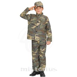 Fato Militar Camuflado, Criança