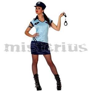Fato Mulher Policia Azul