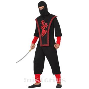 Fato Ninja Oriental, Adulto