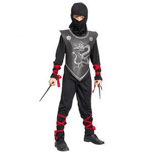 Fato Ninja Preto, criança
