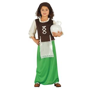 Fato Pastorinha Verde, Criança
