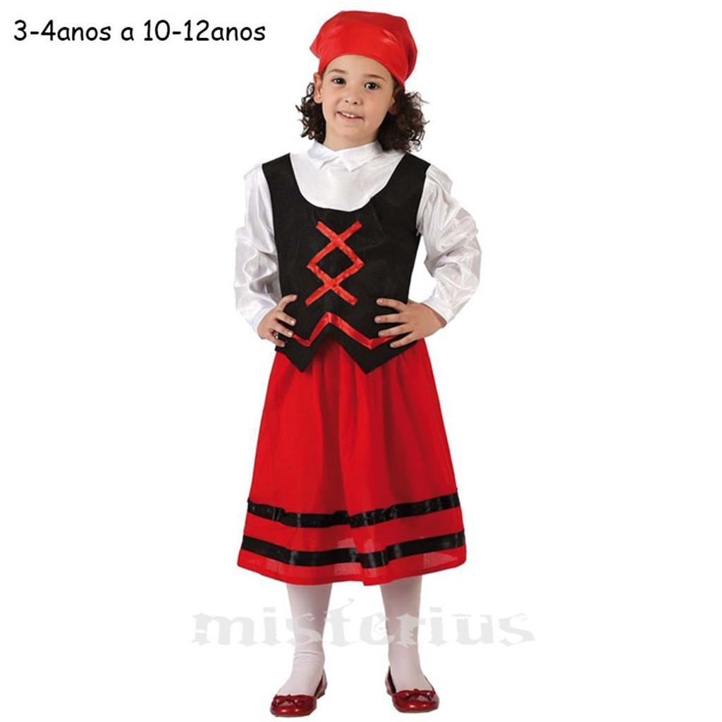 Fato Pastorinha Vermelho, Criança