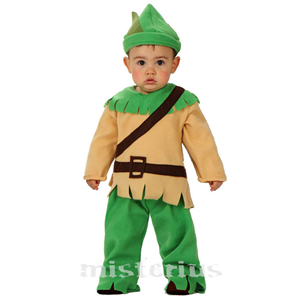 Fato Peter Pan, bebé