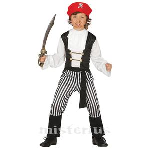 Fato Pirata Salteador, Criança