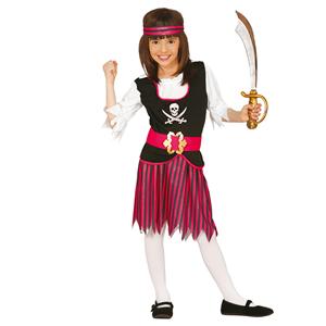 Fato Piratinha Rosa, Criança