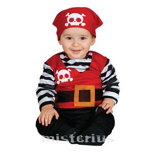 Fato Piratinha Sorridente, Bebé