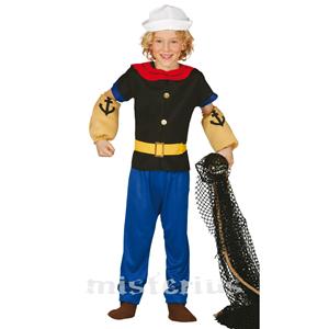 Fato Popeye, criança