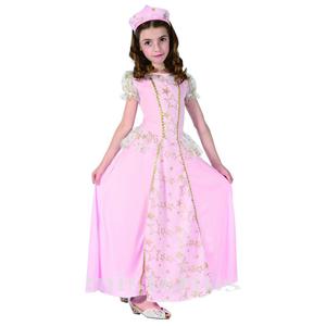 Fato Princesa Estrelar Rosa, Criança