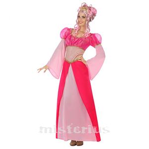 Fato Princesa Rosa Fantasia
