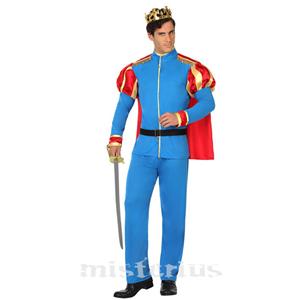 Fato Príncipe Azul, Adulto