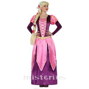 Fato Rainha Rosa Medieval